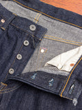 "515 ""Kiraku-II"" 12oz Natural Indigo Selvedge Denim - Slim Straight Fit"