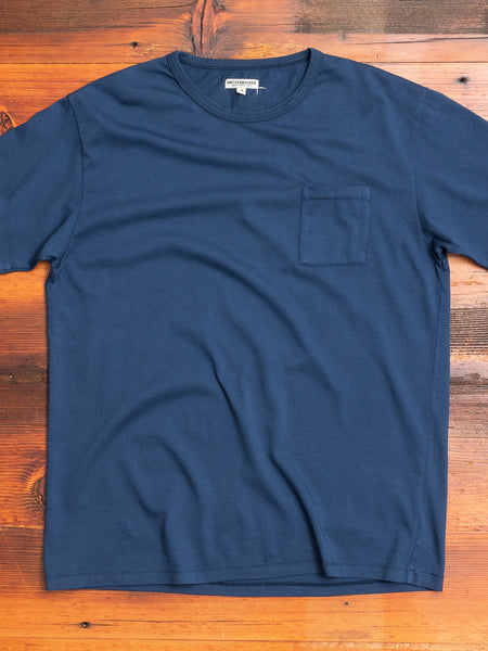 The Pocket T-Shirt in Dusty Blue