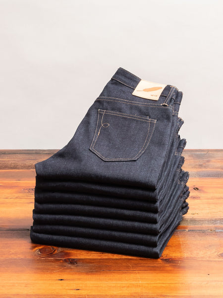 """Proprietary"" 15oz Selvedge Denim in Strong Taper"