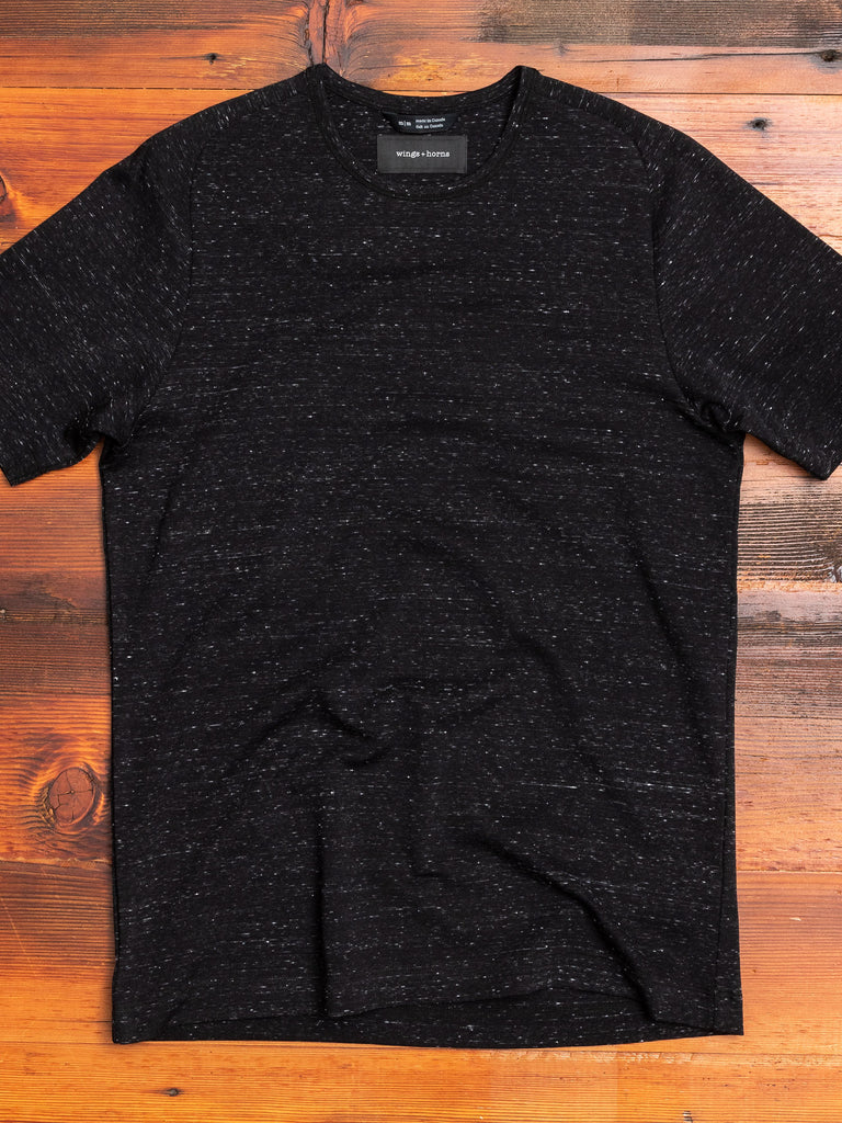 Signals T-Shirt in Static Black