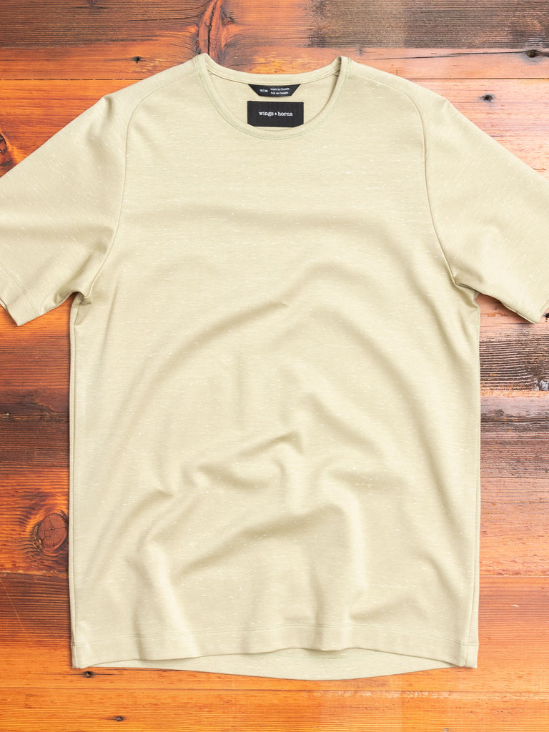 Signals T-Shirt in Static Moss