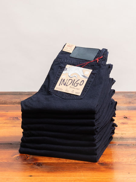 """Indigo Tradition"" 11oz Duck Canvas - Weird Guy Fit"