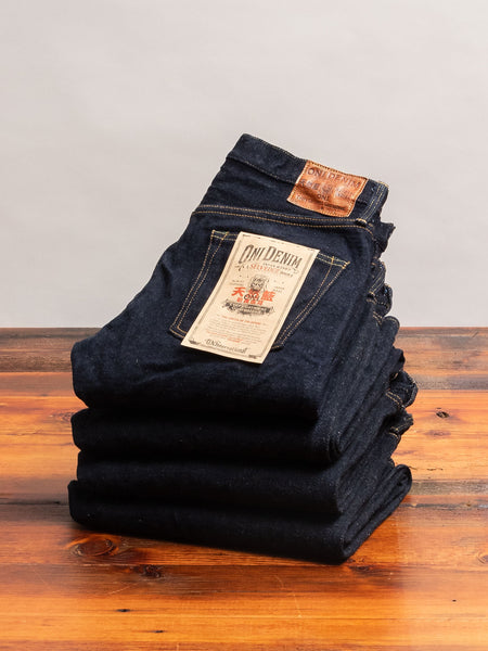 "622 ""Kabuki"" 22oz Selvedge Denim - Relaxed Tapered Fit"