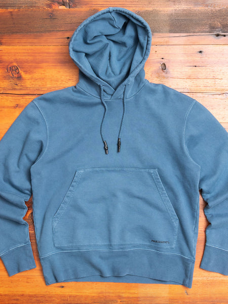 P's Pullover Hoodie in Washed Blue