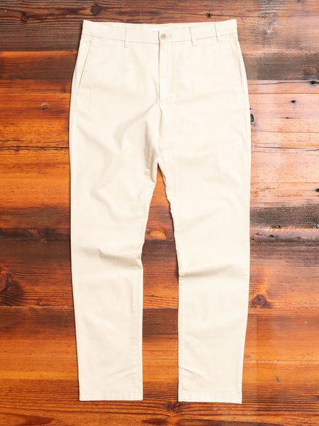 Aros Slim Light Stretch Chino in Oatmeal