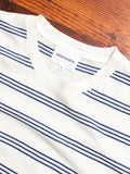 Johannes Stripe T-Shirt in Twilight Blue