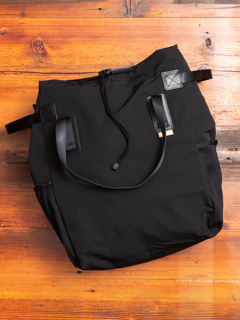 Functional Tote Bag in Black