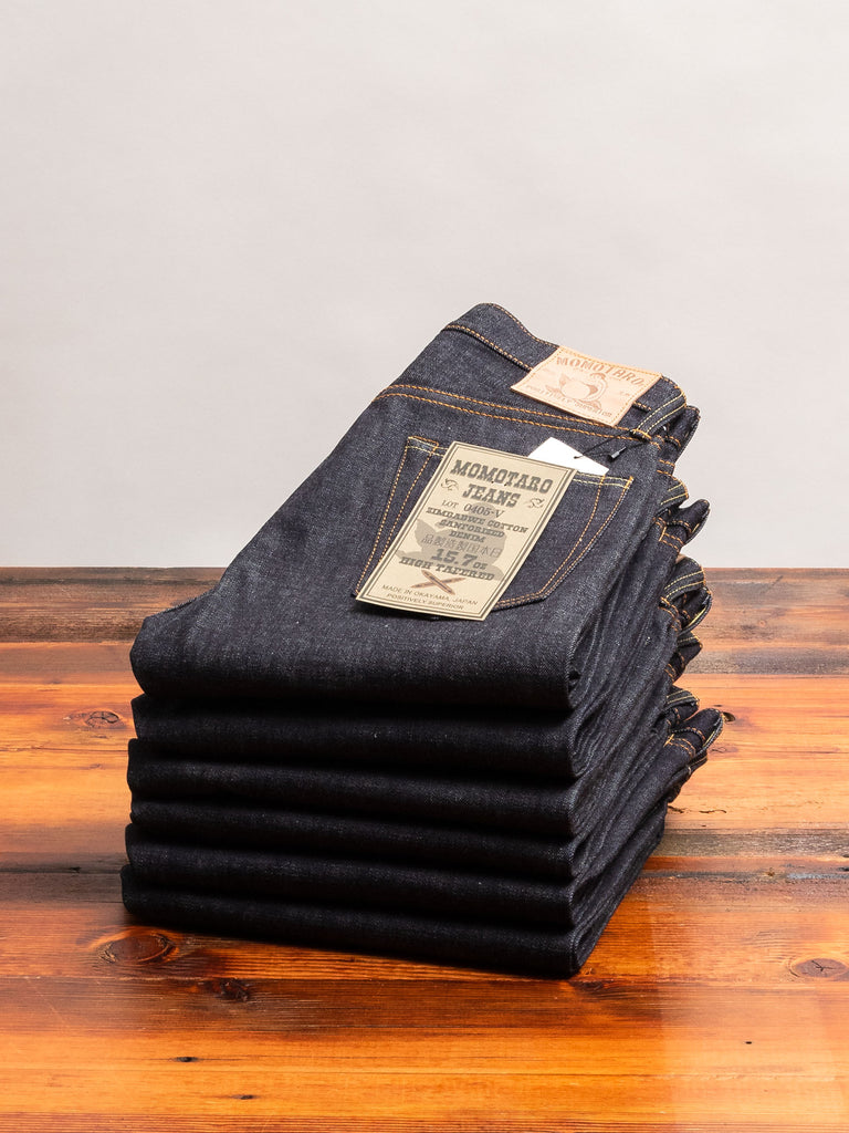 0405V 15.7oz Selvedge Denim - High Tapered Fit