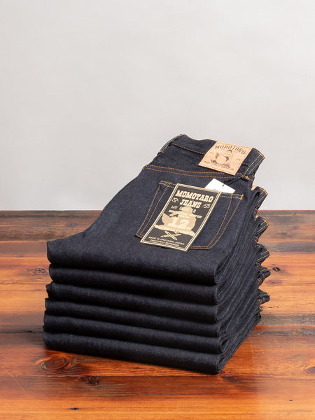 0605-12 12oz Selvedge Denim - Natural Tapered Fit
