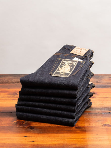 0605-82 16oz Slub Selvedge Denim - Natural Tapered Fit
