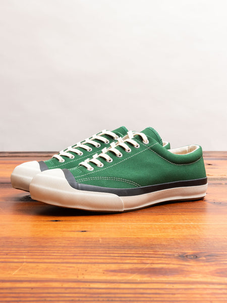 Gym Court Sneaker in Green
