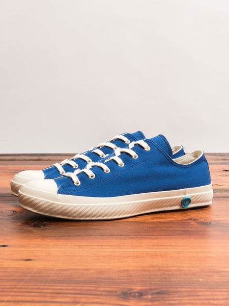 01JP Low Top Sneaker in Indigo