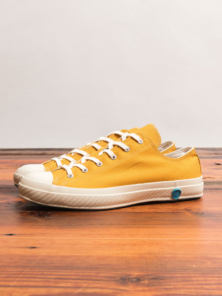 01JP Low Top Sneaker in Mustard