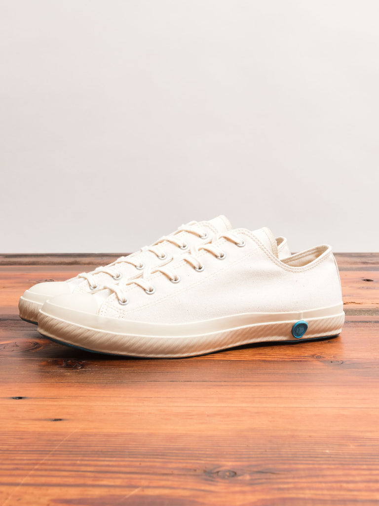 01JP Low Top Sneaker in White