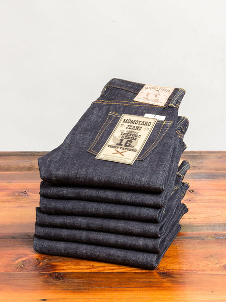 0306-82 16oz Slub Selvedge Denim - Tight Tapered Fit