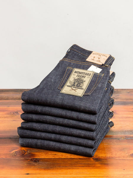0405-82 16oz Slub Selvedge Denim - High Tapered Fit