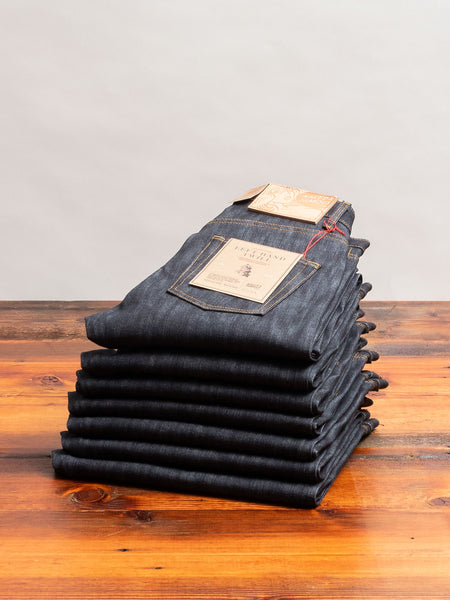 """10th Anniversary Left Hand Twill"" 13.75oz Selvedge Denim - Easy Guy Fit"