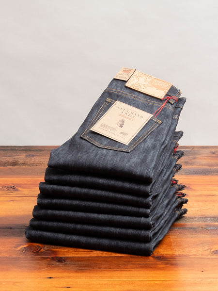 """10th Anniversary Left Hand Twill"" 13.75oz Selvedge Denim - Super Guy Fit"