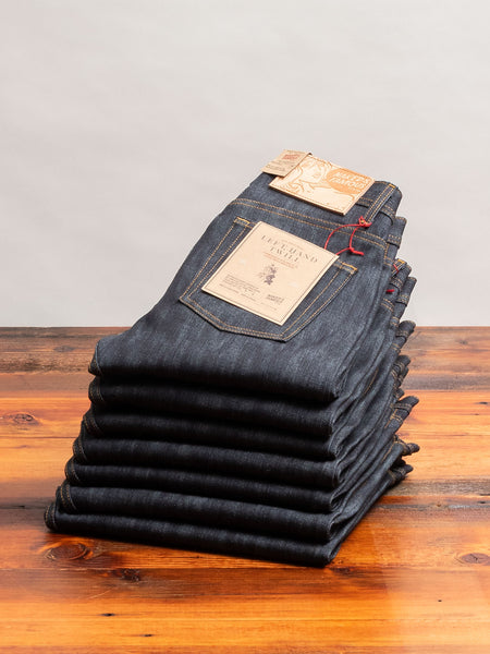 """10th Anniversary Left Hand Twill"" 13.75oz Selvedge Denim - Weird Guy Fit"