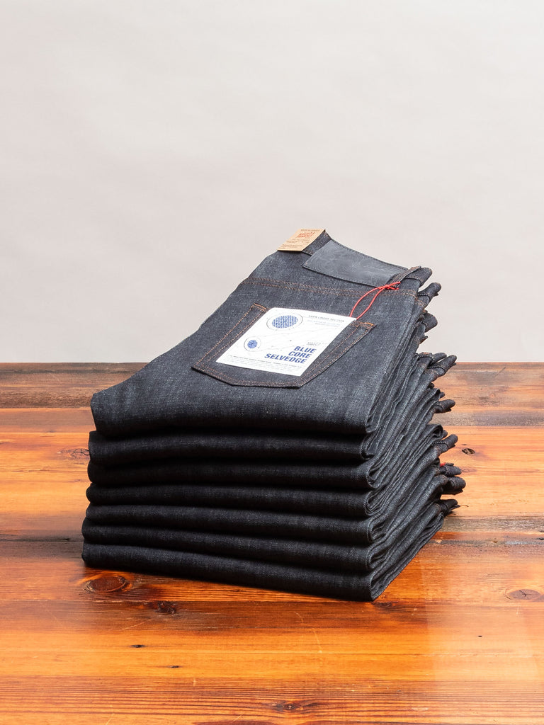 """Blue Core"" 12.5oz Selvedge Denim - Easy Guy Fit"