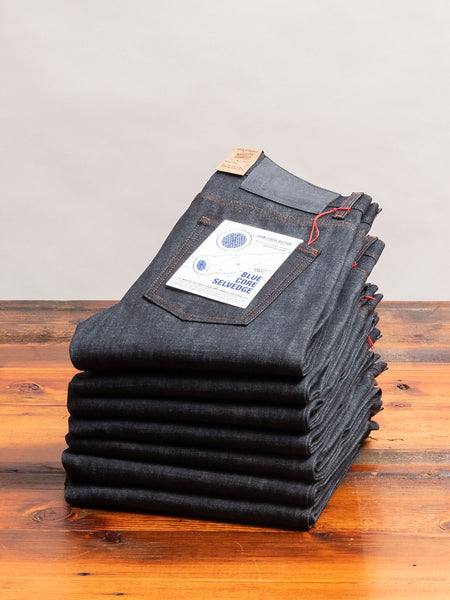 """Blue Core"" 12.5oz Selvedge Denim - Super Guy Fit"