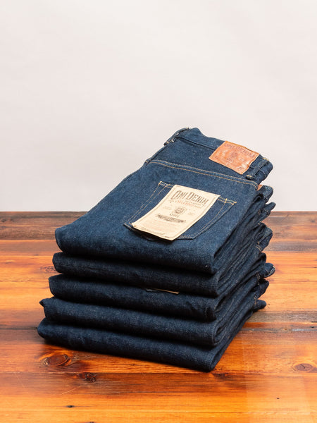 "902ZR ""Secret Denim"" 20oz Selvedge Denim - High Tapered Fit"