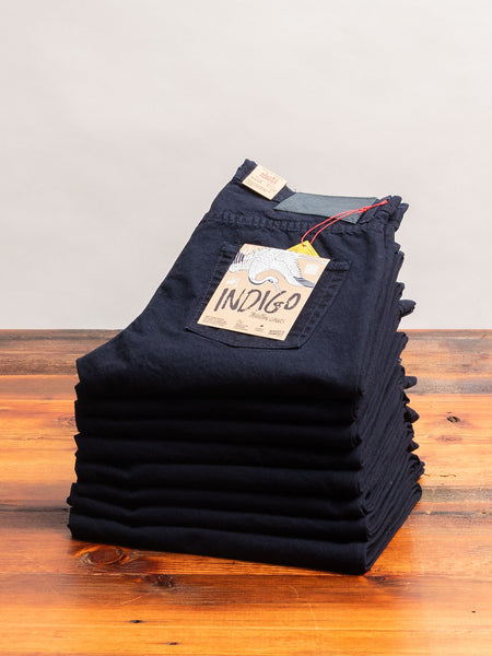 """Indigo Tradition"" 11oz Duck Canvas - Easy Guy Fit"