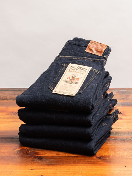 "902 ""Kabuki"" 22oz Selvedge Denim - High Tapered Fit"