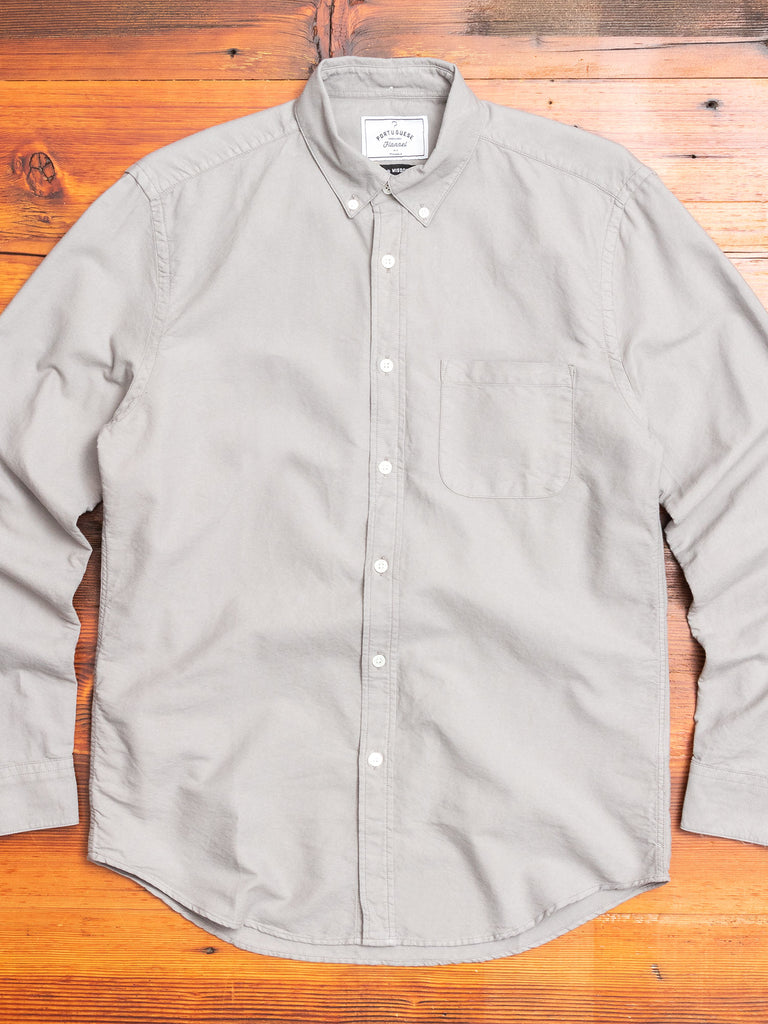 Belavista Button-Up Shirt in Grey