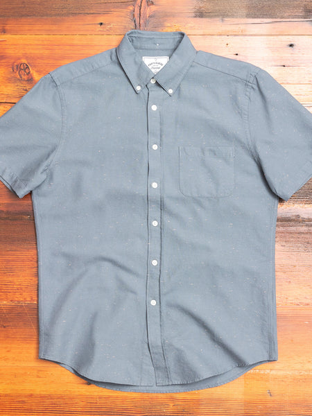 Blur Button-Up Shirt in Anthracite