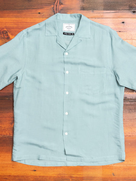 Catown Button-Up Shirt in Green