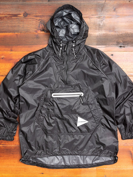 Fly Rain Anorak in Black