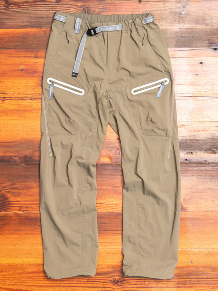 Light Hike Pants in Khaki Green