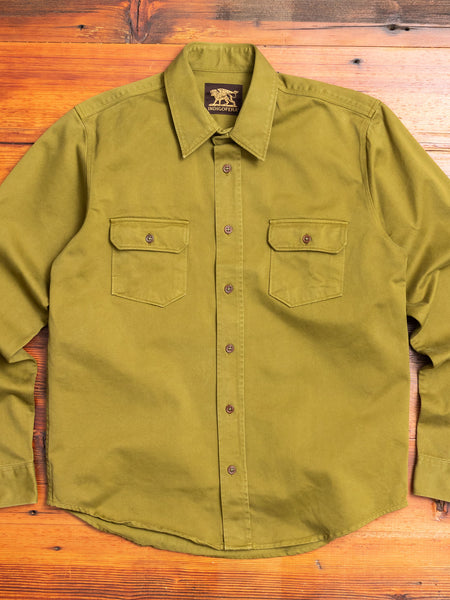Alamo Shirt in Dark Olive