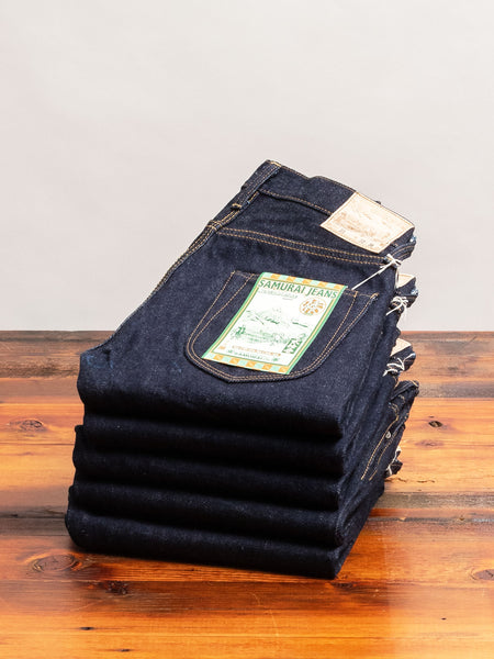 "S003JP21oz ""Yamato"" 21oz Selvedge Denim - Slim Tapered Fit"
