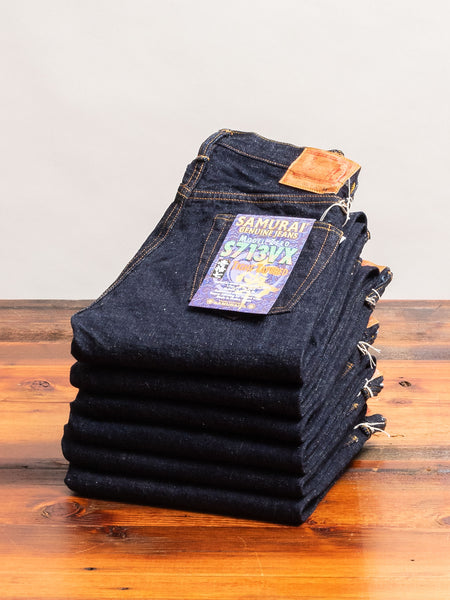 "S713VX ""Zero Bushido"" 17oz Selvedge Denim - Slim Tapered Fit"