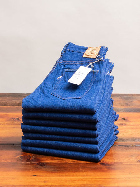 BRT-013 14.5oz Rinsed Selvedge Denim - Slim Tapered Fit