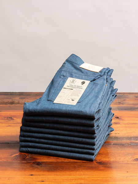 JBO-4100 10oz US Navy Selvedge Denim - Tapered Fit