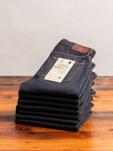 JBO-6300 13oz Organic Selvedge Denim - High Tapered Fit