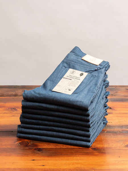 JBO-6100 10oz US Navy Selvedge Denim - High Tapered Fit