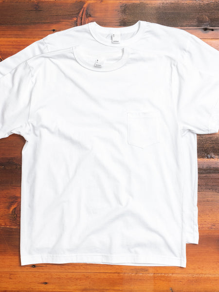 2-Pack Pima Pocket T-Shirts in White