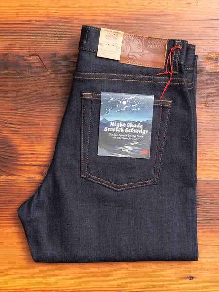 "Women's ""Night Shade Stretch"" 12oz Selvedge Denim - Max Fit"