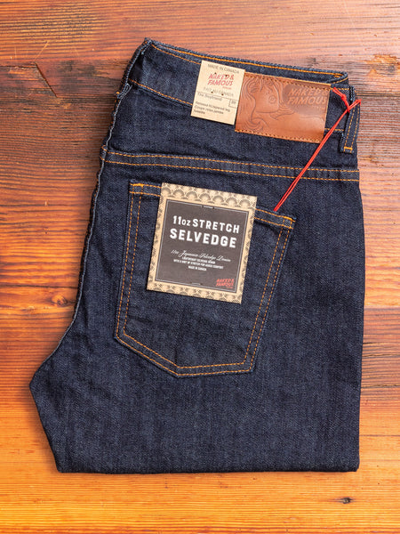 "Women's ""Stretch Selvedge"" 11oz Selvedge Denim - Boyfriend Fit"