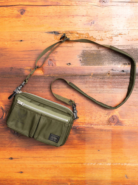 """Flying Ace"" Shoulder Bag (S) in Olive Drab"