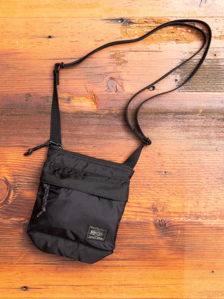 """Force"" Shoulder Pouch in Black"