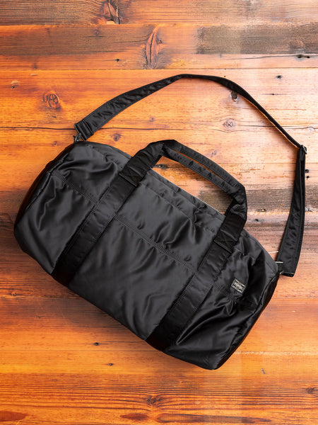 """Tanker"" 2-Way Boston Bag (M) in Black"