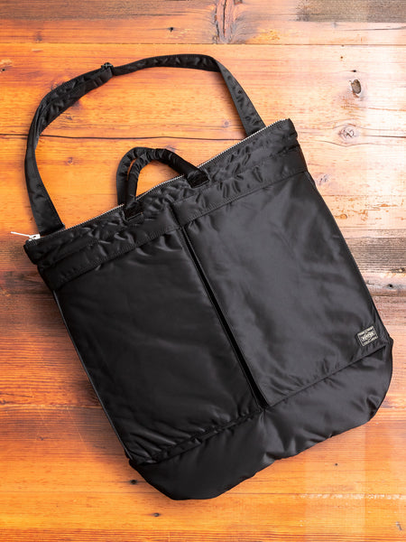 """Tanker"" 2-Way Helmet Bag in Black"