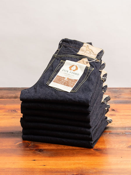 "FOX-001S ""Coyote"" 15oz Selvedge Denim - Relaxed Tapered Fit"
