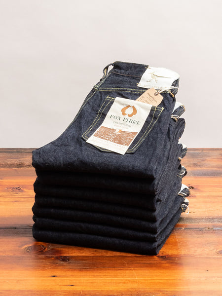 "FOX-001S ""Roadrunner"" 15oz Selvedge Denim - Relaxed Tapered Fit"