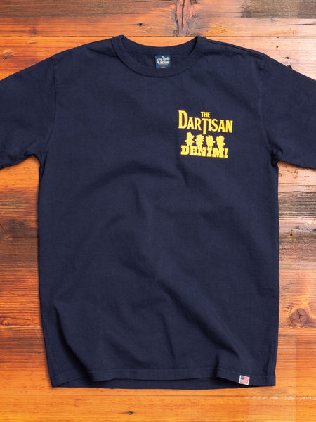 """The D'Artisan"" T-Shirt in Navy"